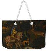 The Vision Of Saint Eustace  Weekender Tote Bag