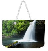 Waterfall In A Forest, Samuel H Weekender Tote Bag