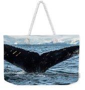 Whale In The Ocean, Southern Ocean Weekender Tote Bag