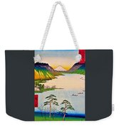 36 Views Of Mt.fuji - Shinshu Suwa Lake Weekender Tote Bag