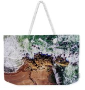 Aerial View Of The Beach, Newport Weekender Tote Bag