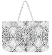 Background Of Geometric Shapes Weekender Tote Bag