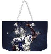 Dallas Cowboys.dak Prescott. Weekender Tote Bag