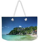 Diniwid Resort Beach View In Tropical Paradise Boracay Island Ph Weekender Tote Bag