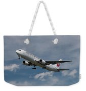 Japan Airlines Boeing 767-346 Weekender Tote Bag