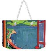 Lake Geneva Weekender Tote Bag