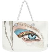 Portrait Illustration- Watercolor Painting Weekender Tote Bag