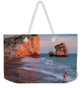 Playing At Aphrodite's Birthplace Weekender Tote Bag