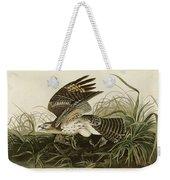 Winter Hawk  Weekender Tote Bag