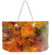 Digital Watercolor Painting Of Beautiful Colorful Vibrant Red An Weekender Tote Bag