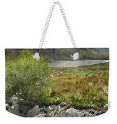 Digital Watercolor Painting Of Stunning Landscape Image Of Count Weekender Tote Bag