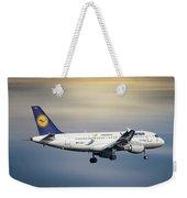 Lufthansa Airbus A319-114 Weekender Tote Bag