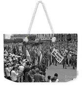 60th Anniversary Of Russian Socialist October Revolution Weekender Tote Bag
