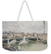 Morning  An Overcast Day  Rouen  Weekender Tote Bag