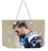 Tom Brady.new England Patriots. Weekender Tote Bag