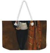 Young Man In The Costume Of A Majo  Weekender Tote Bag