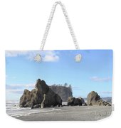 Ruby Beach Sunshine Weekender Tote Bag