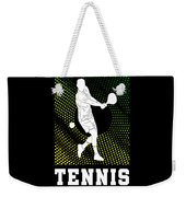 Tennis Player Tennis Racket I Love Tennis Ball Weekender Tote Bag