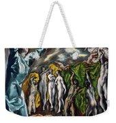 The Vision Of Saint John  Weekender Tote Bag