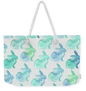 Watercolor Bunnies 1i Weekender Tote Bag
