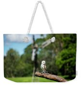 Beautiful Barn Owl Weekender Tote Bag by Rob D Imagery
