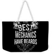Funny Mechanic Beard Facial Hair Apparel Weekender Tote Bag