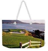 7th Hole At Pebble Beach Golf Links Weekender Tote Bag