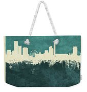 Birmingham England Skyline Weekender Tote Bag