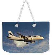 Finnair Airbus A319-112 Weekender Tote Bag