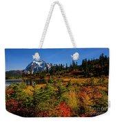 Autumn Colors With Mount Shuksan Weekender Tote Bag
