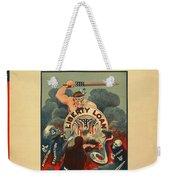 Wartime Propaganda Poster Weekender Tote Bag