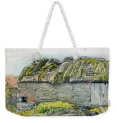 A Barn With A Mossy Roof, Shoreham - Digital Remastered Edition Weekender Tote Bag