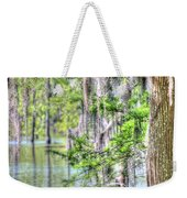 A Beautiful Day In The Bayou Weekender Tote Bag