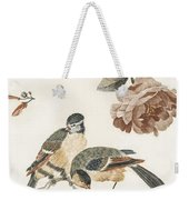 A Blue Tit And A Great Tit By Johan Teyler   1648  1709  2 Weekender Tote Bag
