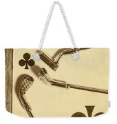 A Classic Round Weekender Tote Bag