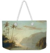 A Creek In St. Thomas Virgin Islands, 1856 Weekender Tote Bag