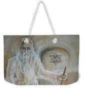 A Dacian Priest At The Sinca Veche Temple Weekender Tote Bag