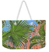 A Don Cesar Palm Frond Weekender Tote Bag