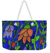 A Flower Garden Weekender Tote Bag