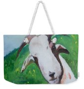 A Goat To Love Weekender Tote Bag