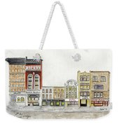 A Greenwich Village Streetscape Weekender Tote Bag