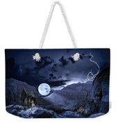 A Haunted Mountain Pass Weekender Tote Bag