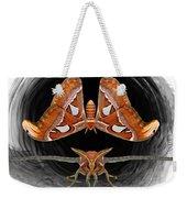 A Is For Atlas Moth Weekender Tote Bag