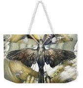 A Painting Alludes To Powers That Might Enable Birds To Migrate. Weekender Tote Bag