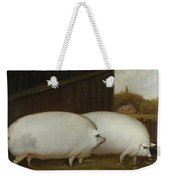A Pair Of Pigs Weekender Tote Bag