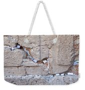 A Piece Of The Wailing Wall Weekender Tote Bag