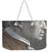 A Portrait Of Immanuel Or Emmanuel Kant Weekender Tote Bag