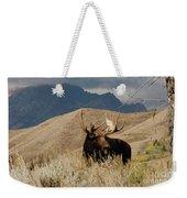 A Really Big Moose Weekender Tote Bag