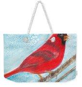 A Red Bird  Weekender Tote Bag
