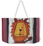 A Red Lion.  Weekender Tote Bag